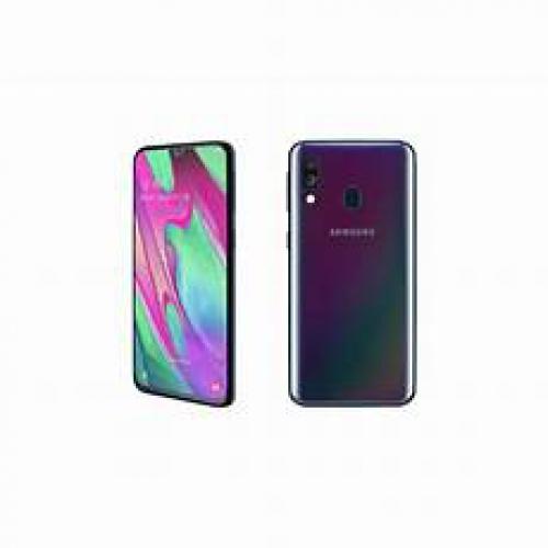 Smartphone Samsung DS A405F GAL A40 64GB VODAFONEBLK (spediz. in 6 gg. lav)