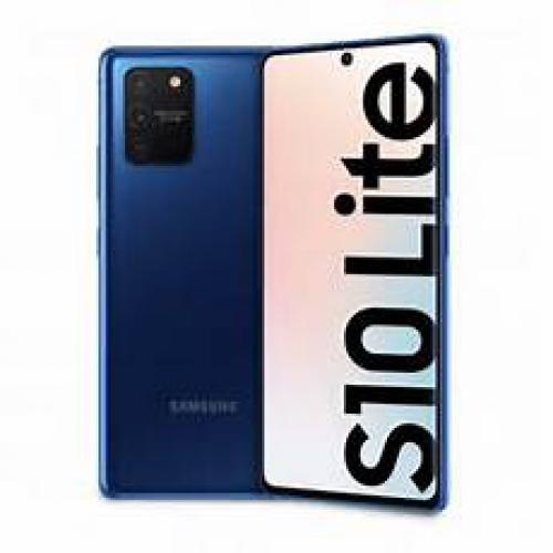 Smartphone Samsung DS G770 GAL S10 LITE 128GB ITA PBLU (spediz. in 6 gg. lav)